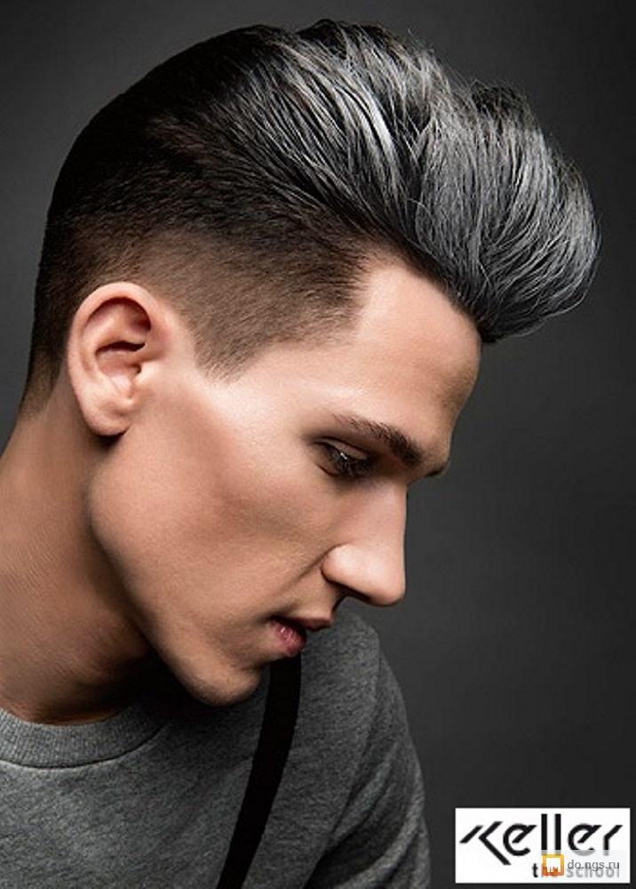 Пепельный цвет волос мужчина