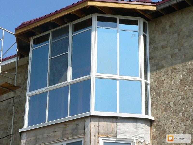 Остекление балконов, лоджий - услуги. реклама. бизнес., услу.