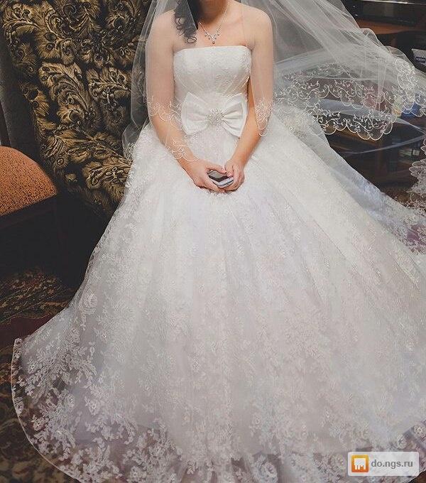 Продам фирменное свадебное платье б/у, фото. Цена - 20000.00 руб., Омск - НГС.ОБЪЯВЛЕНИЯ