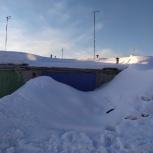 Уборка снега чистка снега расчистка снега, Омск