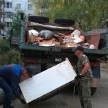 Вывоз мусора,строительного камаз самосвал 15 тонн 11 кубов., Омск