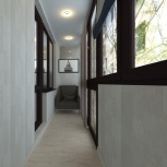 Дизайн проект интерьера под ключ, Омск
