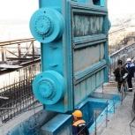 Затвор гидроузла, плоские колесные, Омск