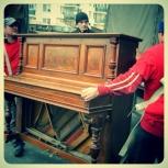 Перевозка подъём пианино такелаж, Омск
