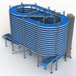Спиральный аппарат для шоковой заморозки на 200- 250кг/час, Омск