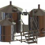 Линия производства пива МПВ- 5000л, Омск