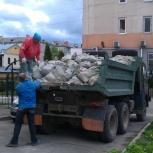 Уборка прилегающих территорий Уборка после пожара, Омск