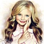 Детский портрет., Омск