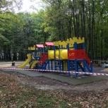 Детские игровые комплексы, Омск