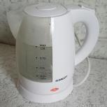 Продам отличный электрический чайник Scarlett SC-EK18P40, Омск