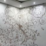 роспись стен в интерьере в омске, Омск