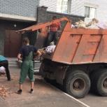 Вывоз мусора со строек, Омск