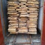 Промышленная сушка древесины, Омск
