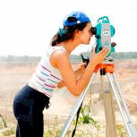 Видео-курс по геодезии. Работа с тахеометром, Омск