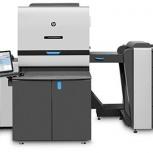 Офсетная машина HP Indigo5500 Digital Press, б/у, склад в Сев. Америке, Омск