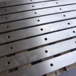 Ножи гильотинные 520х75х25мм изготовление для ножниц, Омск