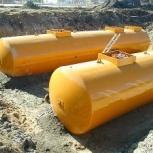 Резервуар горизонтальный стальной РГС-50 м3 (РГСП-50м3), Омск