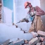 Устройство проема в стене из железобетона, кирпича, Омск