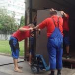 Разгрузка фур вагонов, Омск