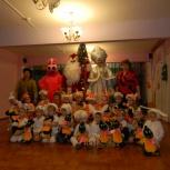 Дед Мороз и Снегурочка от Праздничного Штаба, Омск