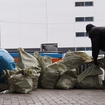 Грузчики спуск погрузка мусора, Омск