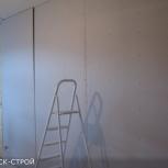 Обшивка стен гкл, мдф, пвх панелями, Омск