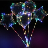 Светящиеся Led шары с ручкой, Омск