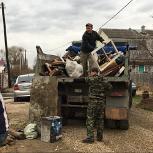 Вывоз мусора, старой мебели. веток Камаз, Омск