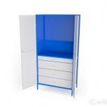 Шкаф металлический под инструменты ши-1П-4Я, Омск
