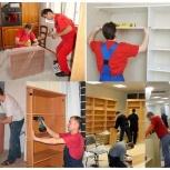 Разборка сборка мебели упаковка мебели, Омск