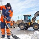 Уборка снега в ручную чистка снега, Омск