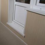 Отделка балконов панелями пвх, Омск
