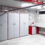 Мебель для гаража в комплекте (верстак, шкафы), Омск