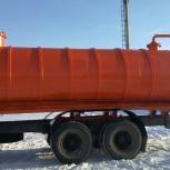 Автоцистерна ассенизационная 15 кубов, Омск