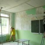 ремонт и отделка учебных заведений, Омск