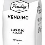 Кофе зерновой Paulig Vending Aroma, 1 кг, Омск