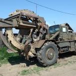 Магистральные траншеи роторным траншеекопателем ТМК-2, Омск