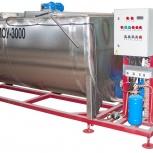 Горизонтальный охладитель молока открытого типа МОУ2000/ОГ, Омск