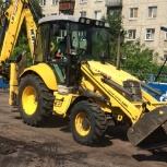 Земляные работы в Омске Аренда экскаватора погрузчика, Омск