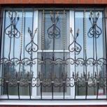 Решетки на окна, Омск