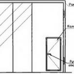 Ворота складчатые ВРС 42х42-УХЛ1, серия 1.435.2-28, Омск