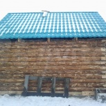 Баня из рубленого бревна 3х4, Омск
