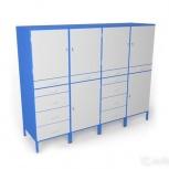 Шкаф металлический инструментальный ши 2222/4141, Омск