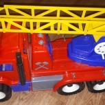 Пожарная машина большая, пожарка 55 см, Омск