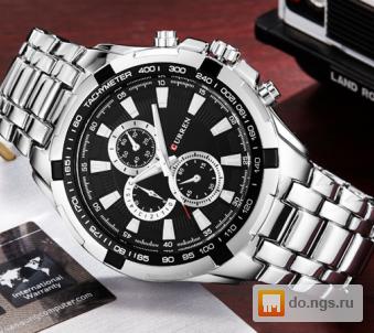 Часы curren 8023 Silver White фото 99b5984e91d