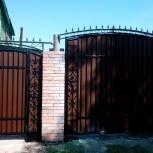 Заборы, ворота, Омск