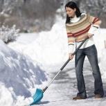 Очистка дворов, улиц, территорий от снега круглосуточно, Омск