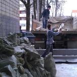Вывоз строй мусора в омске. Газель, зил, камаз, Омск