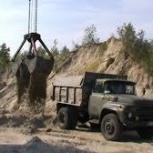 песок строительный с доставкой, Омск