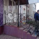 Крыльцо, двери, лестницы, Омск